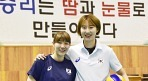 """박정아-이소영, """"우리는 경쟁자보다 협력자"""""""