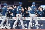 '나성범 5타점' NC, 4연승 신바람.. kt 2연패