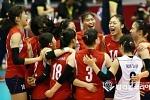 한국 U19 女배구 2연승..대만에 3-0 승리