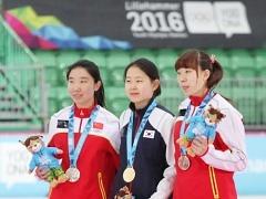 """'500m 금메달' 김민선..""""유스동계올림픽 쾌거"""""""