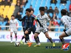 '헛심 공방' 인천, 전남과 0-0 무승부..첫 승 실패