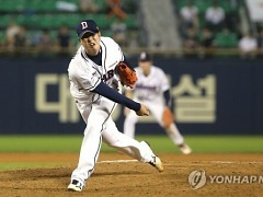 친정팀에서 부활한 김성배, 비결은 투심 패스트볼