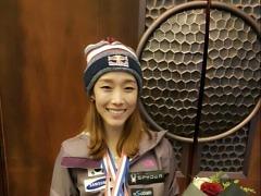 '3번의 銅' 김자인, 리드WC 시즌 첫 은메달 쾌거