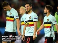 '아자르 포함' 벨기에, 월드컵 예선 명단 발표
