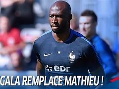 망갈라, 마티유 대신 프랑스 대표팀 합류