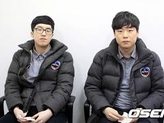 """CJ 김진선-김경민, """"실수 줄여 승강전 가겠다"""""""