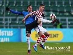 '루츠 선제골' 에스토니아, 크로아티아에 3-0 완승