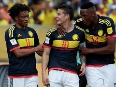 '하메스 1골 1도움' 콜롬비아, 에콰도르에 2-0 승
