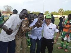 아프리카 남수단, '한국축구 혼' 앞세워 두번째 웃다