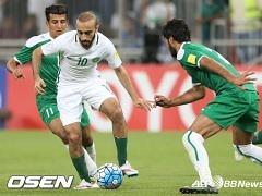 사우디, 이라크 1-0 격파..B조 2위 등극