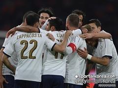 '보누치 결승골' 이탈리아, 네덜란드에 2-1 역전승