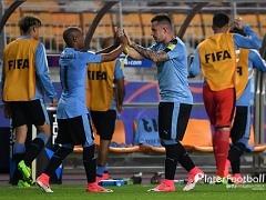 우루과이, 일본 2-0 격파..16강행 확정