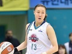 女농구 김정은, 일본서 치료 받고 귀국..재활 전념