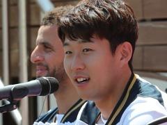 손흥민, 홍콩으로 출국..26일 키치SC와 친선경기