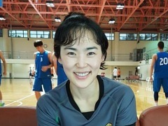 국가대표 출신 박선영, 남자프로농구 심판에 도전