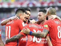 [컨페드컵] 칠레, 호주와 1대1 - 포트투갈과 4강
