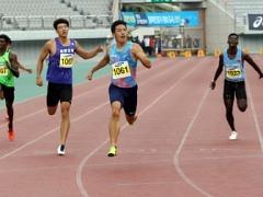 박봉고, 코리아오픈국제육상 男 200m 우승