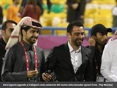 사비 에르난데스, 카타르 대표팀 코치로 합류