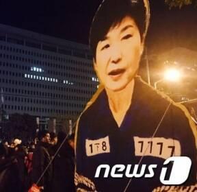 '박근혜대통령 구속 풍자'