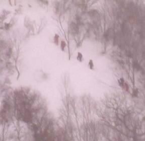 日 스키장 눈사태 고교생 8명 사망