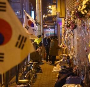 朴지지단체 '침울' Vs 주민들 '후련'..삼성동 자택 적막감