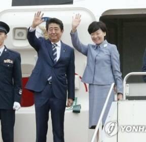 """日아베 G7 정상회의 참석차 출국..""""북한문제 결속 대응"""""""