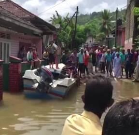 스리랑카 14년 만의 최악의 물폭탄..158명 사망