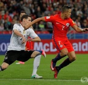 [2017 컨페더레이션스컵] 독일-칠레, 1-1 무승부