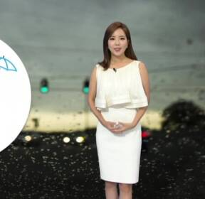 [날씨] 중부 장맛비·남부 폭염..국지성 호우 주의