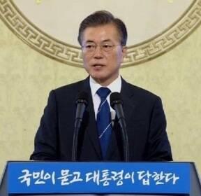 [청와대] 각본 없이 '즉문즉답'..취임 100일 회견 이모저모