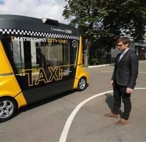 [세상은 지금]시범 운행중인 러 자율주행 택시