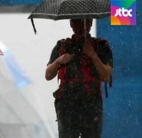 서울·영서 등 시간당 30mm 강한 비..모레 늦더위 온다