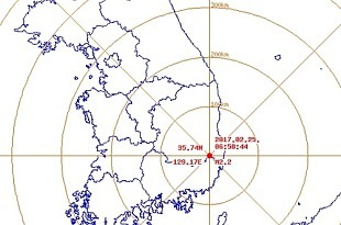 """경북 상주서 규모 2.1 지진..기상청 """"피해 없어"""""""