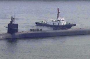 미 핵잠수함 미시간호, 부산항 온다..북 경고인 듯
