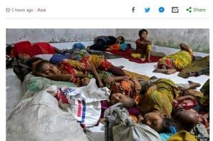 방글라데시 사이클론 상륙 임박..100만명 피난