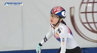 여자 1000m - 노련하게 금메달 거머쥐는 심석희