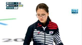 여자 컬링 대한민국 vs OAR 하이라이트 [SBS]