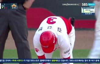 최원준 4번의 기회 끝에 극적인 만루홈런으로 경기 종료 / 11회말