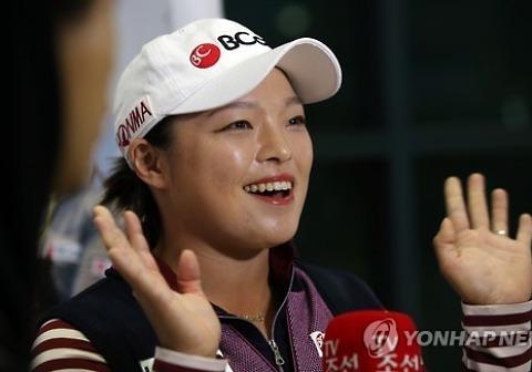 장하나, 女골프 세계 9위로 상승..한국 선수 중 5위