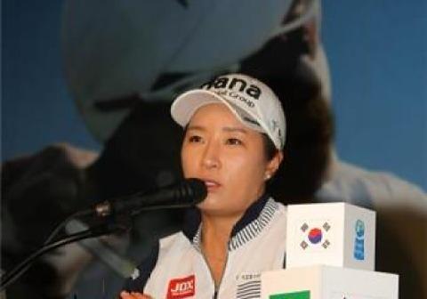 """박세리 """"올림픽 금·은·동메달, 휩쓰는 것이 목표"""""""