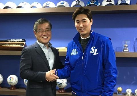 삼성, 우규민과 총액 65억원에 FA 계약