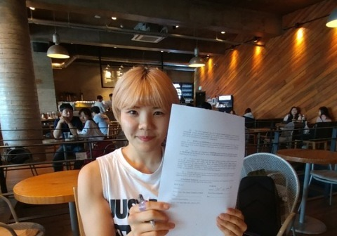 'TFC 女 파이터' 김지연, UFC와 계약..韓 선수 12번째
