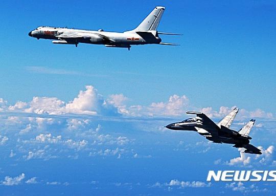 중국 공군, 동·남중국해서 동시 작전능력 갖춰