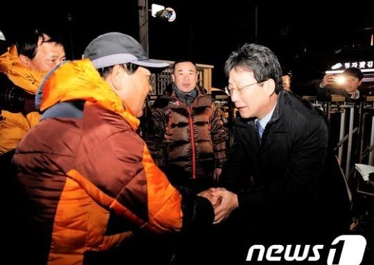 """유승민 """"정부 지원 빨리 진행되도록 챙기겠다"""""""
