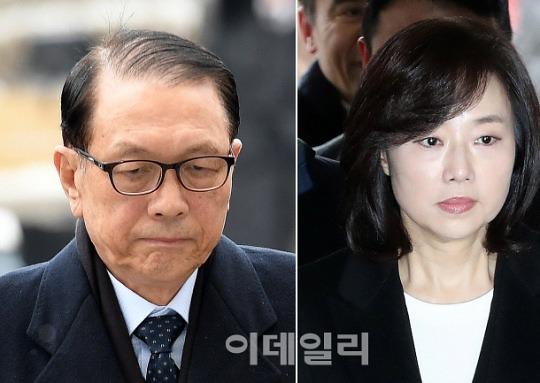 '블랙리스트' 김기춘·조윤선 구속..서울구치소 수감