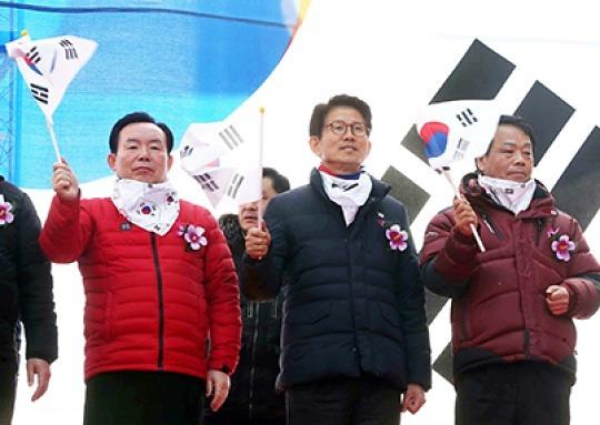 대선 주자 지지율 다 합쳐도 1%..무기력한 한국당