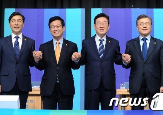 민주 후보들, 긴장감 속 정견발표 막바지 준비