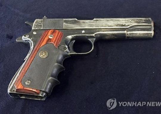 """""""14년 지나 가물"""" 농협강도 권총 출처 오리무중"""