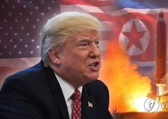 """트럼프 """"北핵실험하면 기쁘지 않을 것"""""""