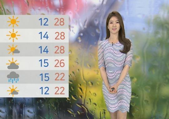 [날씨] 올들어 가장 더워..서울 26도·대구 31도